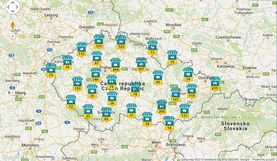 Stovky prodejních míst. Můžete je dohledat přímo na webu Mobil.cz.