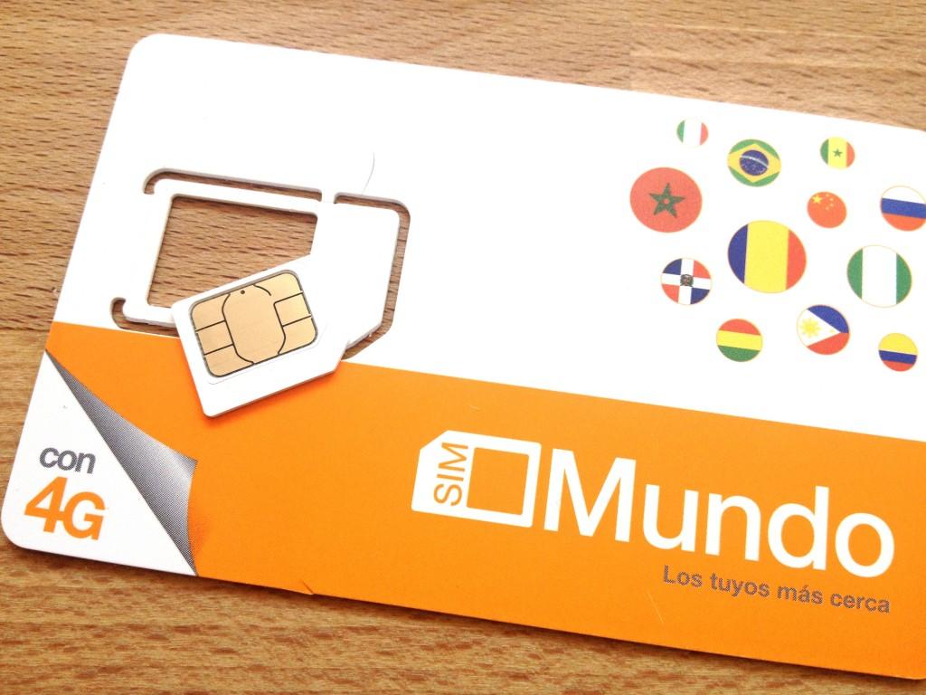 Předplacená karta Orange Mundo